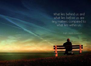 Ralph Waldo Emerson - what lies ...