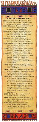 Native Americans - main historical events