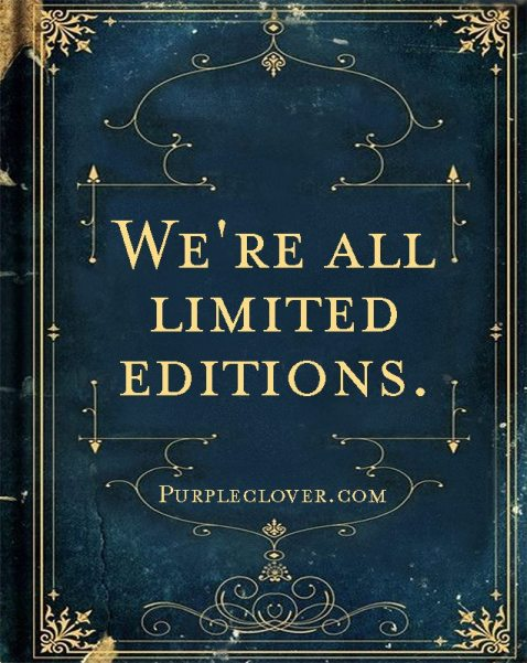 WE ARE ALL limited editions