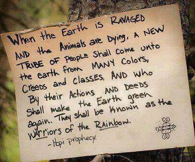 Hopi Prophesy - RainBow Tribe