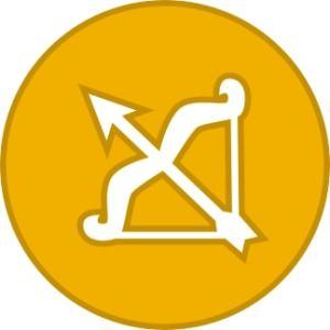 Zodiac sign - Sagittarius .a.