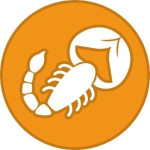 Zodiac sign - Scorpio .a.