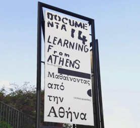 DOCUMENTA 14 - poster in Athens