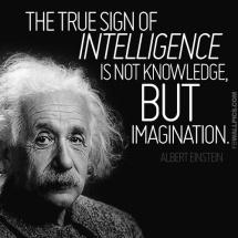 Albert Einstein - true intelligence