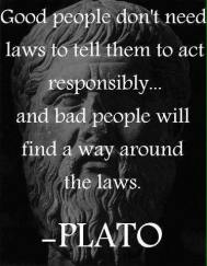 Plato - Good People - Bad People - Laws