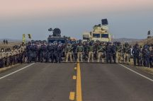 Riot Police U.S.A. - photo by Redhawk - Standing Rock Rising -
