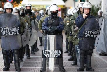 Riot Police Ellas (wrongly known as Greece)
