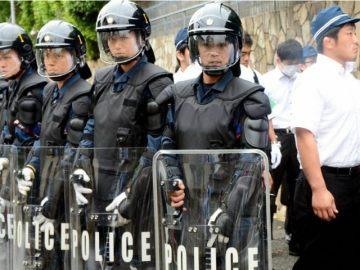 Riot Police Japan