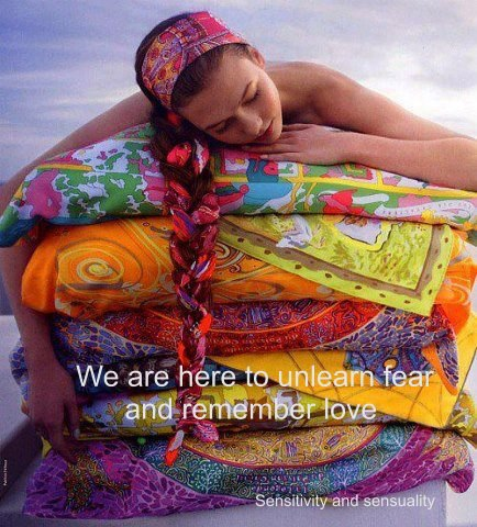 WE are Here to unlearn fear + Remember Love