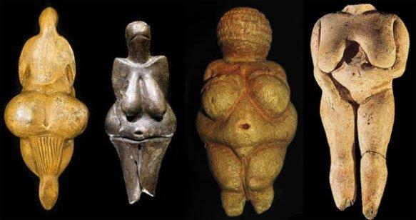 Mother - Aphrodite - Prehistoric Female figurines - cover pic