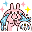 - ,,big,, crying its eyes out, and ,,small, getting its head splashed and having tears too