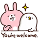 - You,re welcome