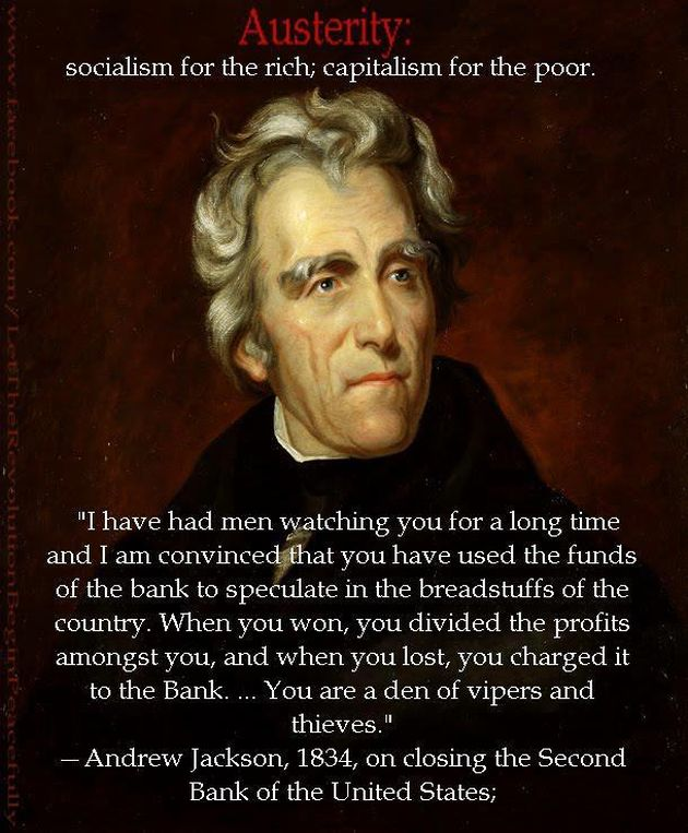 Andrew jackson - funds-of-the-bank-to-speculate