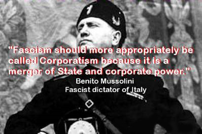 Benito Mussolini - Fascism should more appropriately be called Corporatism because it is a merger of State and corporate power
