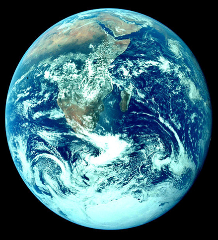 Earth The Magnificent Blue Home