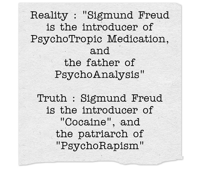 Sigmund Freud - reality and truth -